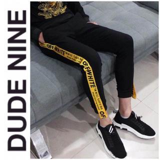 STUD HOMME - 期間限定 本日発送 新品DUDE9 ラインパンツ メンズ レディース