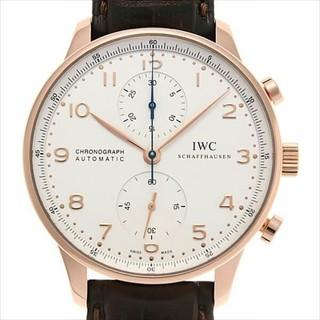 インターナショナルウォッチカンパニー(IWC)のポルトギーゼ クロノグラフ メンズ 腕時計(腕時計(アナログ))