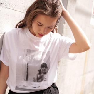 ニコアンド(niko and...)の【新品★タグ付き】今期新作 フォトプリントTシャツ(Tシャツ(半袖/袖なし))