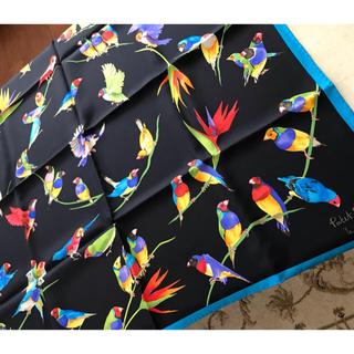 パテックフィリップ(PATEK PHILIPPE)のパテックフィリップ 大判スカーフ 新品未使用 お値下げ(バンダナ/スカーフ)