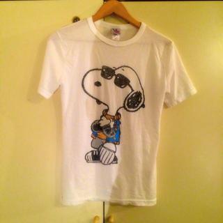 シェル(Cher)のcher jankfood スヌーピーT(Tシャツ(半袖/袖なし))