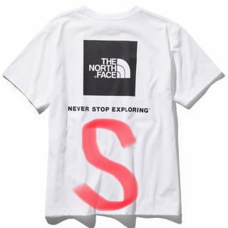 ザノースフェイス(THE NORTH FACE)のノースフェイス Tシャツ スクエアロゴ Tee NT31957 Sサイズ(Tシャツ/カットソー(半袖/袖なし))