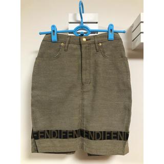 フェンディ(FENDI)のFENDI ミニスカート 値下げ(ミニスカート)