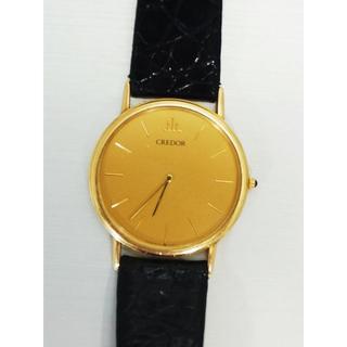 セイコー(SEIKO)のセイコー 5A74-0030 クレドール 18KT メンズ クオーツ(腕時計(アナログ))