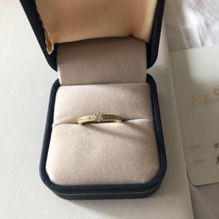 アガット(agete)のアガットk18ダイヤモンドリング(リング(指輪))