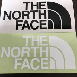 THE NORTH FACE - 【縦7cm横14cm】THE NORTH FACEカッティングステッカー二枚