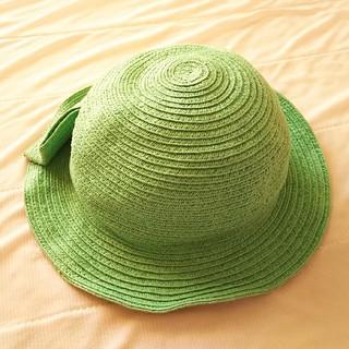 セラフ(Seraph)のSeraph つば付帽子グリーン48cm(帽子)