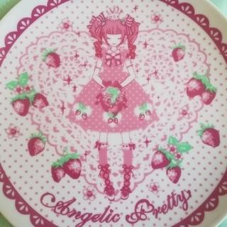 Angelic Pretty - 希少品 いちご姫ケーキプレート