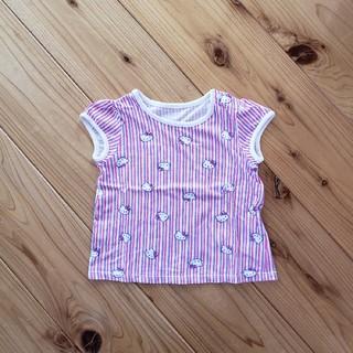 ユニクロ(UNIQLO)のキティーちゃんの半袖☆80(Tシャツ)