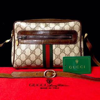a9cccc2c5b2c グッチ(Gucci)のレア 美品 グッチ オールドグッチ シェリーライン ショルダーバッグ ポシェット