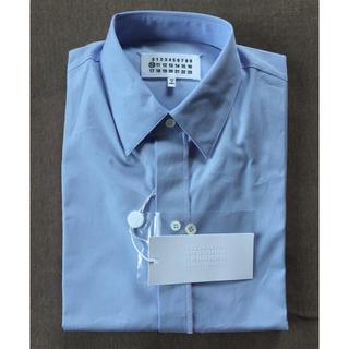 マルタンマルジェラ(Maison Martin Margiela)の39新品56%off マルジェラ ドレスシャツ スカイブルー 17SS(シャツ)