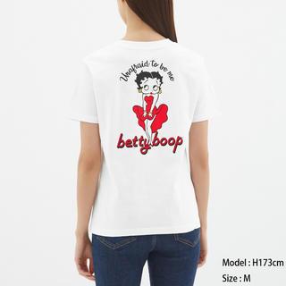 ジーユー(GU)のグラフィックt ベティ(Tシャツ(半袖/袖なし))