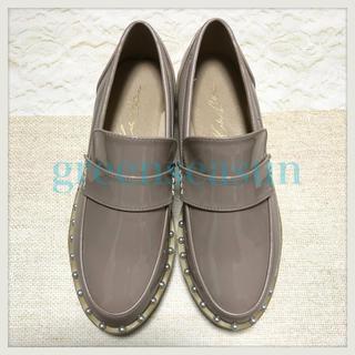 ミラオーウェン(Mila Owen)の【新品未使用】パールコバローファー(ローファー/革靴)