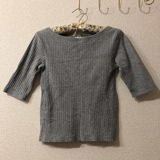 ジーユー(GU)のGU カットソー(カットソー(半袖/袖なし))