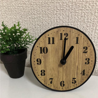 スタンド付き置き・掛け時計