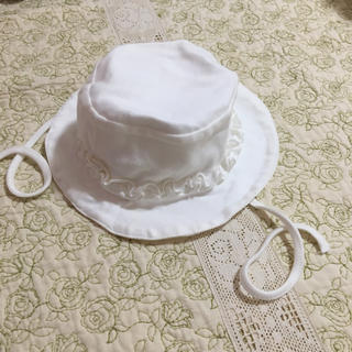 ベルメゾン - フリフリハット  帽子  40-44  ベルメゾン レモール
