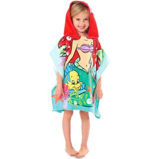 Disney - 新品!アリエル ♡ なりきり 変身 ビーチタオル バスタオル フード付き タオル