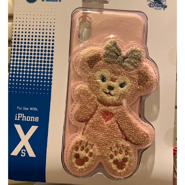 iphone x ケース メゾン キツネ | 香港ディズニー 限定 シェリーメイ iPhone X. XR. XS ケースの通販 by アッコ^ - ^イースター中|ラクマ