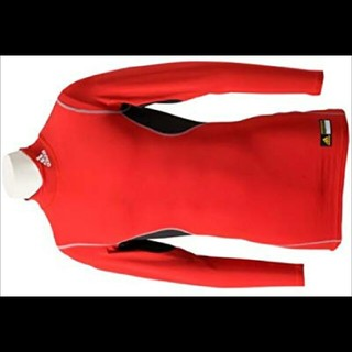 アディダス(adidas)のadidas アディダス アンダーシャツ レッド(Tシャツ/カットソー(七分/長袖))