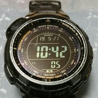 カシオ(CASIO)の■プロトレックBLACK LIMITED■PRW-1300YJ(腕時計(デジタル))