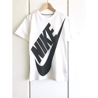 NIKE - 【美品】ナイキ/NIKE『ビッグロゴ』プリントTシャツ/S/ホワイト/即完売品