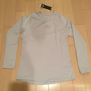 アディダス(adidas)の【新品】アディダス アルファスキン ロングスリーブシャツ  サイズO(トレーニング用品)