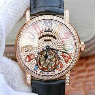 フランクミュラー(FRANCK MULLER)のFRANCK MULLER豪華ジュエリー満天の星真陀飛輪(腕時計(アナログ))