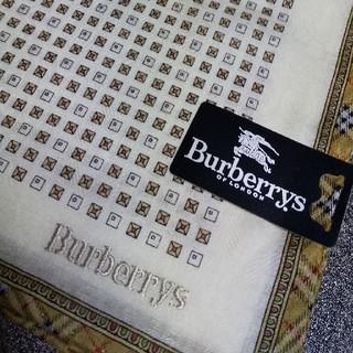 バーバリー(BURBERRY)の新品  Burberry③  ハンカチ  ミニスカーフ  ポケットチーフ メンズ(ハンカチ)