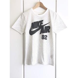 NIKE - 【希少】ナイキ/NIKE『AIR 82』メッシュ風プリントTシャツ/S/ホワイト