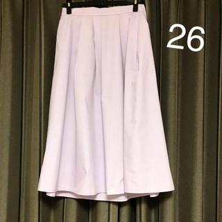 ジーユー(GU)のスカート パープルパステル(ひざ丈スカート)