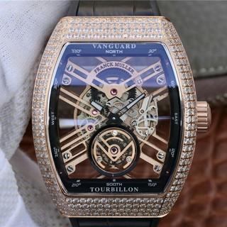 フランクミュラー(FRANCK MULLER)のFRANCK MULLER新しいヴァンガードスケルトンスケルトンブリッジ(腕時計(アナログ))