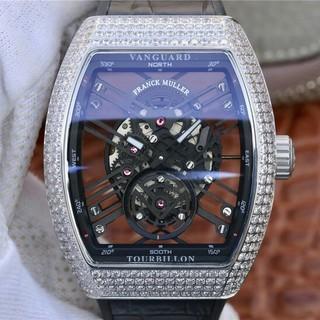 フランクミュラー(FRANCK MULLER)のFRANCK MULLER新しいヴァンガードスケルトンスケルトンブリッジ(腕時計)