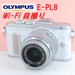 OLYMPUS - 極上美品★Wi-Fi&動画も夜景もセルフィーで!★オリンパス E-PL8