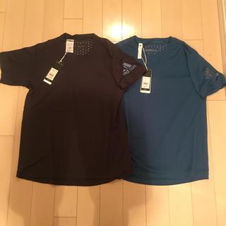 adidas - 【新品】アディダス エアーフローTシャツ Lサイズ 2着セット