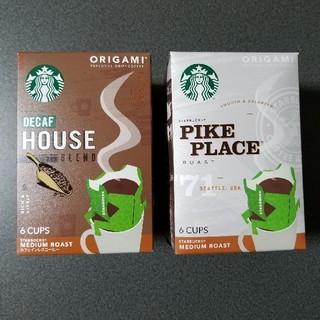Starbucks Coffee - スターバックス オリガミ ドリップコーヒー 6袋×2