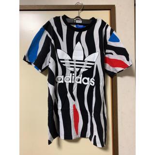 アディダス(adidas)のアディダスオリジナルス ゼブラ柄Tシャツ(Tシャツ/カットソー(半袖/袖なし))