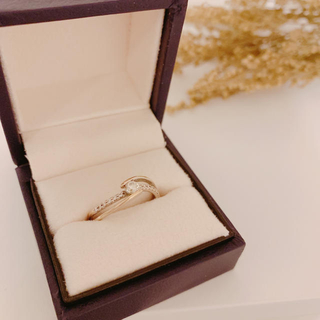 ダイヤモンド 18Kホワイトゴールド 指輪 リング(リング(指輪))