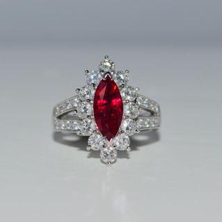 PTルビー&ダイヤモンドリング(リング(指輪))