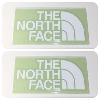 ザノースフェイス(THE NORTH FACE)のノースフェイス ステッカー 2点 ⁑ 大人気 ホワイト!(その他)