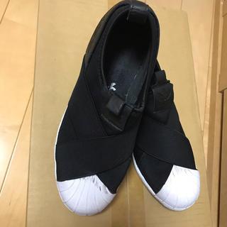adidas - adidas スニーカー スリッポン 25