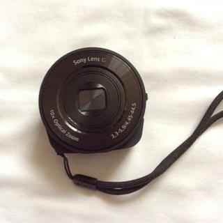 ソニー(SONY)のSONY デジタルスチルカメラ DSC-QX10 32GB SDHCカード付き(その他)