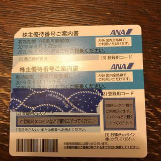 ANA(全日本空輸) - ANA 株主優待券2枚セット