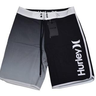Hurley - Hurley 新品 タグ付き Sサイズ サーフパンツ30インチ 黒 白