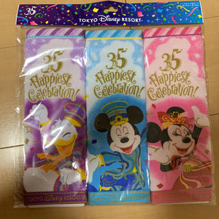 Disney - ミニタオル3枚セット