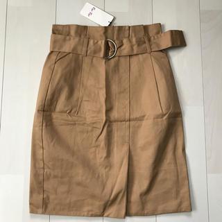 バイバイ(ByeBye)のBye Bye  🖤 ベルト付き スカート     新品(ひざ丈スカート)