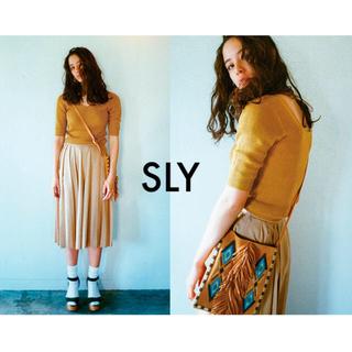 スライ(SLY)のSLY V SQUARE MG TOPS (Tシャツ(半袖/袖なし))