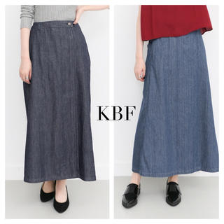ケービーエフ(KBF)のKBF デニムラップロングスカート(ロングスカート)