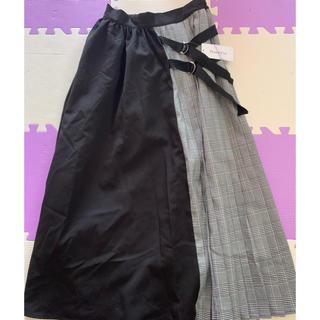シマムラ(しまむら)の新品、タグ付き♥️プリーツスカート(ロングスカート)