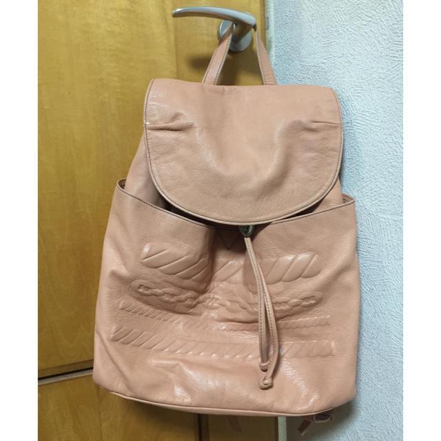 PAPILLONNER(パピヨネ)のパピヨネ IO PELLE レディースのバッグ(リュック/バックパック)の商品写真