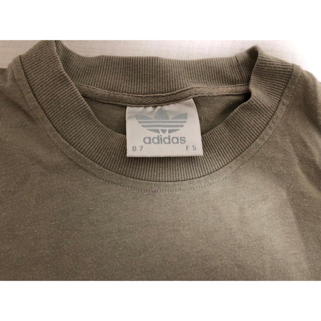 adidas(アディダス)の古着 ビンテージ トップス アディダス  Tシャツ レディースのトップス(Tシャツ(半袖/袖なし))の商品写真